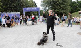 Viktorija Černova veda mankštą
