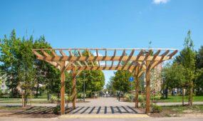 Atnaujintas Santarvės parkas