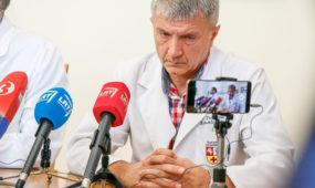 Kauno klinikų konferencija dėl paauglei per klaidą sulašinto dezinfekcinio tirpalo