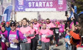 """""""Pink Run su BENU"""" bėgimas"""