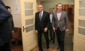 LSU ir LKF bedradarbiavimo sutarties pasirašymas