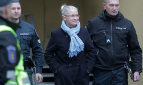 N. Venckienė išvežta iš teismo