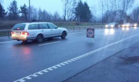 Šventines dienas tikrintas vairuotojų blaivumas