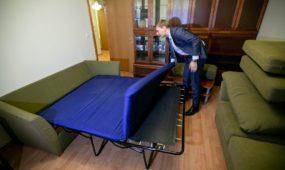 M. Puidokas Seimo viešbučio apartamentuose