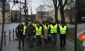Turkų statybininkų streikas