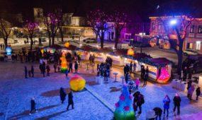 Kauno Kalėdų miestelio ledinukai