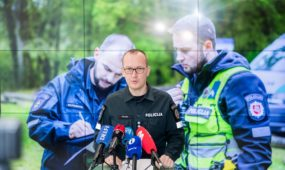 Policijos spaudos konferencija