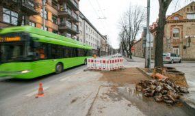 Kęstučio gatvės remontas