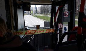 Stop juosta autobuse