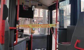 Stop jusota autobuse