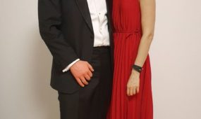 KINO PAVASARIO generalinis direktorius Algirdas Ramaška ir žmona Vita Ramaškienė