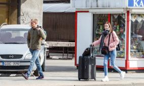 Tuščias Kaunas įvedus karantiną