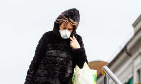 Respiratorius, veido kaukė, koronavirusas