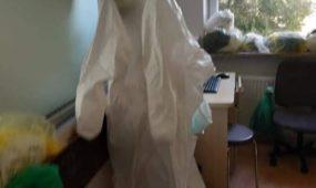 Vienkartiniai kostiumai Kauno klinikinėje ligoninėje