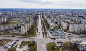 Karantino metu ištuštėjęs Kaunas