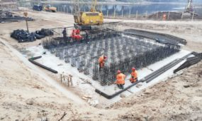 Naujo tilto per Nerį statybos