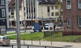 Avarija Šv. Gertrūdos gatvėje