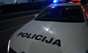 Policijos postas Ateities plente