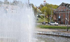 Steigiamojo Seimo aikštės fontanas