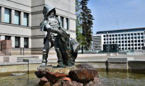 Karo muziejaus fontanas