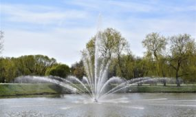Kalniečių parko fontanas