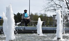 Čečėnijos aikštės fontanas