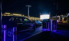 """Drive-in"" kino seansai Nemuno saloje"
