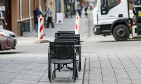 Atsidaro lauko kavinės po karantino sušvelninimo