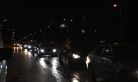 Prie Muravos sankryžos tikrinami automobiliai
