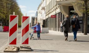 Uždaroma Maironio gatvė