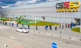 Atidaryti prekybos centrai Kaune
