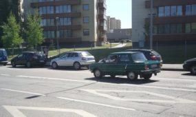 """Zaporožietis"" Kauno gatvėse"