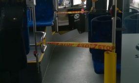 Autobusuose atitvertas salonas