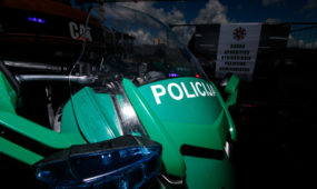 Naujojo policijos komisariato statybos Radvilėnų plente