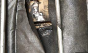 Muitininkai sulaikė vilkikus su cigarečių kontrabanda