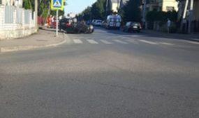 Avarija Žeimenos gatvėje
