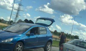 Eismo įvykis automagistralėje ties Giraite