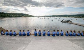 Irklavimo bazės Lampėdžio ežere atidarymas