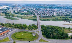 Drifto filmavimas Kauno pilies žiede