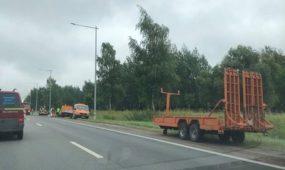 Kelio darbai Islandijos plente