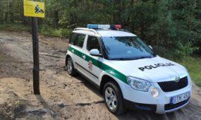 Prevencinis pareigūnų reidas Kauno rajone