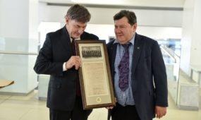 VDU įteikti Yad Vashem Pasaulio tautų teisuolių apdovanojimai