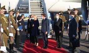 E. Macrono vizitas Lietuvoje