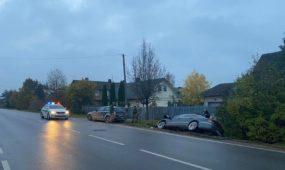 Avarija S. Dariaus ir S. Girėno gatvėje