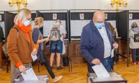 V. Matijošaičio išankstinis balsavimas Seimo rinkimuose