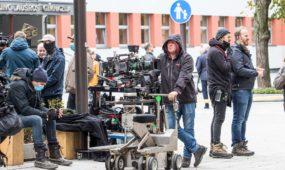 """Serialo """"Clark"""" filmavimas Kaune"""
