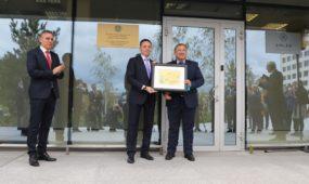 Kazachstano garbės konsulato atidarymas