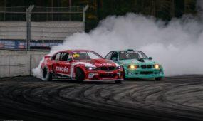 Lietuvos drifto čempionatas Rygoje