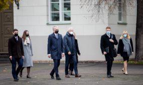 G. Nausėda susitiko su ekspertų grupe