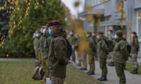 Lietuvos kariuomenės pagalba Nacionaliniam visuomenės sveikatos centrui